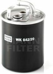 Mann-filter Brandstoffilter WK 842/20