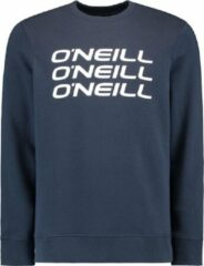 Blauwe O'Neill Lm Triple Stack Crew N01404 5056 Ink Blue