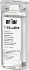 Transparante DeLonghi Braun BRSC003 - Ontkalker voor de Braun KF7020BK en KF7120BK