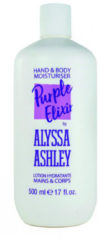 Alyssa Ashley Trendy line purple elixer hand & body lotion 500 Milliliter