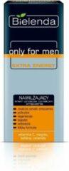 Bielenda Only For Men Extra Energy vochtinbrengende crème tegen vermoeidheidsverschijnselen 50ml