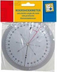 Soho Koershoekmeter 12,6 Cm Transparant