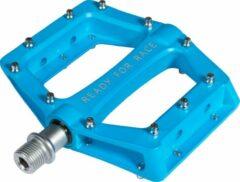 Blauwe Cube RFR CMPT Flat Pedalen, blue