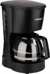 Korona 12011 koffiezetapparaat - mat zwart - 5 kops