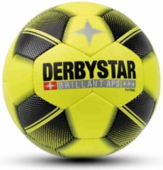 Gele Derbystar Futsal Brillant Zaalvoetbal Unisex - Maat 4