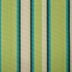 Agora Abaco Botanic 3954 gestreept, groen, blauw, creme stof per meter, buitenstof, tuinkussens, palletkussens