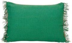 Groene Imbarro Jo Kussen 40 x 60 cm - Groen
