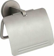 Roestvrijstalen Closetrolhouder M/Klep Inox Plieger-Start
