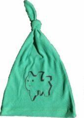 Anha'Lore Designs - Lilou - Babymuts - Groen/zwart