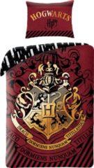 Rode Harry Potter Dekbedovertrek Wizardry - Eenpersoons - 140 x 200 cm - Katoen