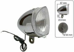Witte K-parts Fietslamp Retro Chroom