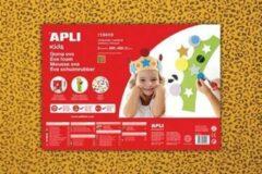 Apli Kids EVA Foam vellen 60 x 40 cm luipaardprint - 3 vel
