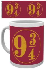 Witte HARRY POTTER - Mug - 300 ml - 9 3/4