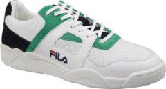 FILA Cedar CB Low Wit/Donkerblauw/Groen Heren Sneakers Wit Divers | Kleur Wit Divers| Maat 45