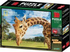 National Geographic 3D puzzel Giraffe 500 stukjes