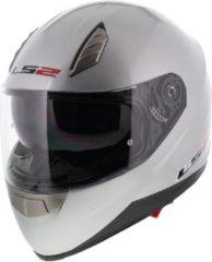LS2 FF384 Blade Integraalhelm - Motorhelm - Glans Zilver - Maat S