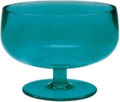 Zak!Designs Zak! Designs ijsschaaltje Drinkwaren Stacky 10 cm Aqua blauw