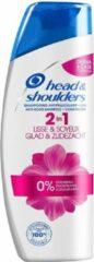Head & Shoulders Glad & Zijdezacht 2-in-1 Anti-roos - Voordeelverpakking 6x270ml - Shampoo en Conditioner