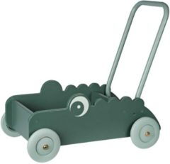 Groene Done by Deer Loopwagen - Walker Croco Green