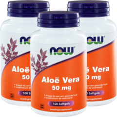 Now Foods Now Aloe Vera Trio (3x 100sft)