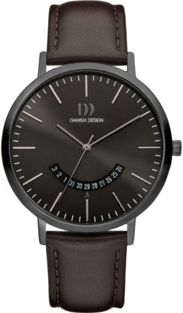 Afbeelding van Grijze Danish Design watches edelstalen herenhorloge Morsø All Grey IQ16Q1239