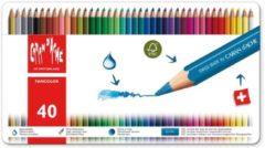 Alles Voor Kleuren Kleurpotloden Caran d'Ache Fancolor 40 stuks