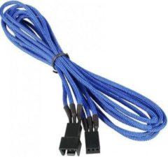 BitFenix BFA-MSC-3F60BK-RP kabeladapter/verloopstukje 3-pin Zwart, Blauw