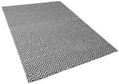 Beliani IMIRCIK Vloerkleed Zwart Synthetisch materiaal 140 x 200 cm
