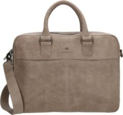 Grijze Micmacbags Malmö laptoptas 15 inch grey
