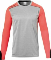 Rode Uhlsport Tower GK Sportshirt performance - Maat XXL - Mannen - grijs - rood