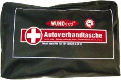 Wundmed Autoverbanddoos - 44 Delig - Zwartkleurig - EHBO doos - Verbanddoos auto - Verbanddoos bedrijven - EHBO-kit