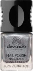 Zilveren Alessandro Nail Polish - 74 Silver Moon - 10 ml