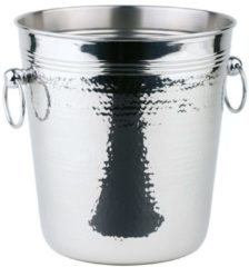 Roestvrijstalen APS RVS wijnkoeler hammerschlag - ø21 x h21 -5 cm