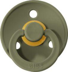 Groene Fopspeen - Olijf - BIBS - 0/6 maanden - T1 - 2 stuks