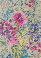 Bluebellgray - Laagpolig vloerkleed Bluebellgray Ines Jardin 19904 - 250x350 cm