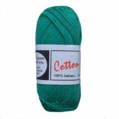 Beijer BV Cotton eight 8/4 onbewerkt dun katoen garen - groen (307) - naald 2,5 a 3
