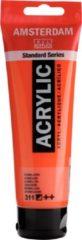 Royal Talens Amsterdam Standard acrylverf tube 120ml - 311 - Vermiljoen - halfdekkend