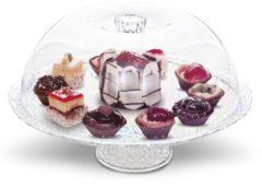Kuchen-/Tortenbehälter mit Haube Besteckhaus Schäfer ungefärbt
