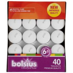 Bolsius theelichten 40 stuks