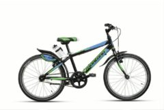 20 Zoll Kinder Fahrrad 6 Gang Montana Escape Wham schwarz-grün