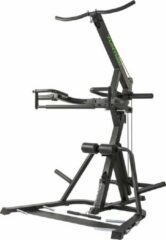 Zwarte Tunturi WT85 Levarage home gym - Lat pulley station