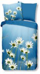 Bettwäsche Gänseblümchen Good Morning blau
