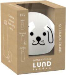 Lund Dop Skittle Hond 5,5 X 5,5 X 7 Cm Polypropyleen Wit