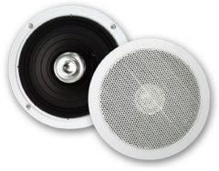 Douche Concurrent Badkameraudio Aquasound Jive Economy Speakers Inbouw Rond 15.5x3.5cm Wit