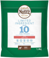 Nutro Adult Limited Ingredients Zalm - Hondenvoer - 1.4 kg