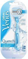 Gillette Quench scheersysteem met douchehaakje - 2 scheermesjes