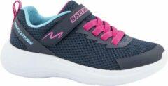 Skechers Kinderen Blauwe lightweight sneaker - Maat 30