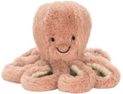 Roze Jellycat Odell de octopus knuffel 49 cm