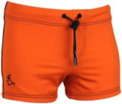 Ramatuelle Zwemboxer Heren - Borneo - Maat S - Kleur Oranje / Fluor Orange