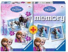 RAVENSBURG Spel Memory + Puzzel Frozen (6013114)